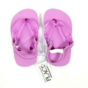 NWT The Children's Place Lavender Sandals Sz 4-5